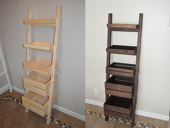 Multi-Functional Interior Ladder