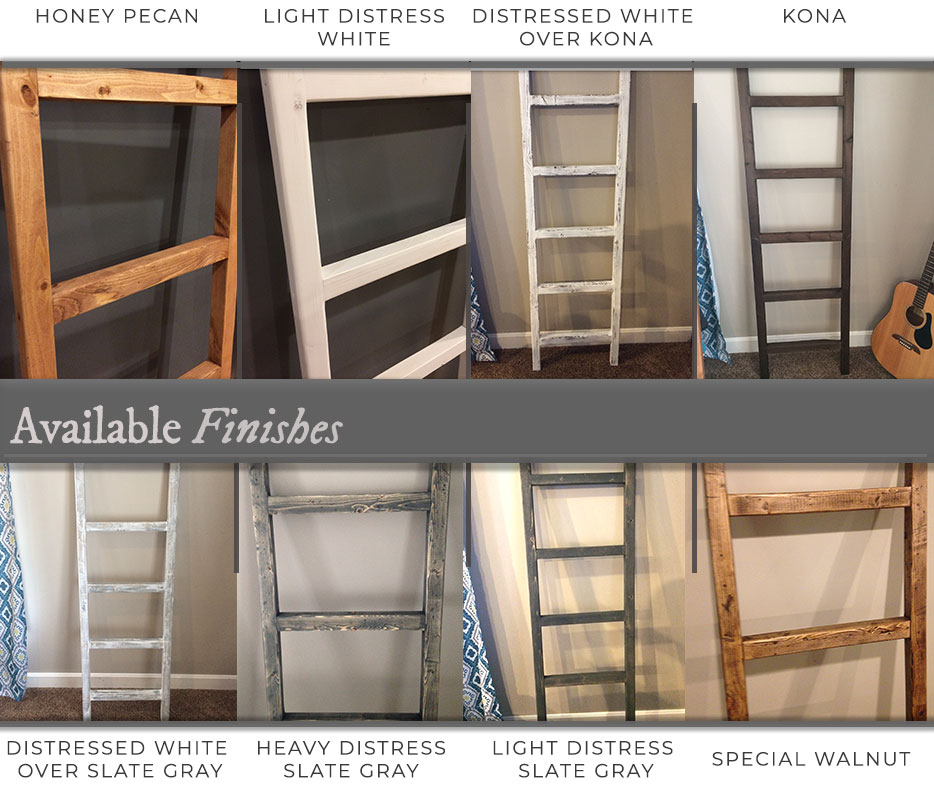 ladder finish options