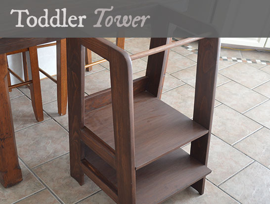 toddler tower